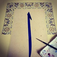 Work in progress #istanbul #turkey #calligraphy #illumination #islamicart #artwork #mywork