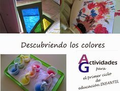 Actividades para el primer ciclo de Educación Infantil: Descubriendo los colores