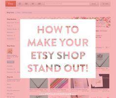 Selling on Etsy: How to Set Yourself Apart via Stephanie Creekmur