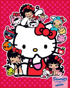 Hello Kitty x Charuca by Charuca Vargas, via Behance