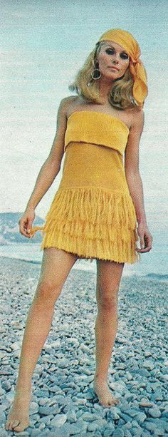 Mic Mac by Classic Style of Fashion, 1960s. Sharon Tate
