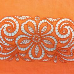 Embroidery It: How to do Cutwork Machine Embroidery a Step-By-Step Tutorial Cutwork Saree, Cutwork Embroidery, Embroidery Needles, Machine Embroidery, Lace Patterns, Embroidery Patterns, Advanced Embroidery, Drawn Thread, Parchment Craft
