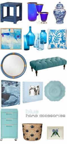 Mimosa Lane: Several Shades of Blue || Home Accesories