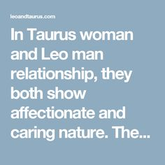leo man and libra woman relationship problems