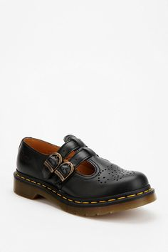 Dr. Martens Double-Strap Mary Jane #urbanoutfitters---my other fav pr of shoes, perfect 4 fall & winter.