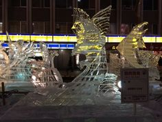 67th雪まつりすすきの会場を歩いてみた【氷像画像】   札幌ぶらぶらダイアリー #SnowFestival  #雪まつり
