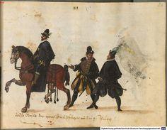 Augsburg patricians - Kostüme und Sittenbilder des 16. Jahrhunderts aus West- und Osteuropa, Orient, der Neuen Welt und Afrika