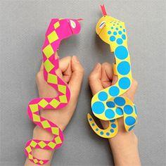 marionnette-serpent à imprimer