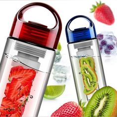 Cheap flip lid, Buy Quality fruit infuser directly from China infuse water Suppliers: Health Fruit Infusing Infuser Water Bottle Lemon Strawberry Juice Bottle Flip Lid for Kitchen Camping Outdoor Travel Fruit Water Bottle, Drinking Water Bottle, Filtered Water Bottle, Best Water Bottle, Bpa Free Water Bottles, Fruit Infused Water, Infused Water Bottle, Juice Bottles, Drink Bottles