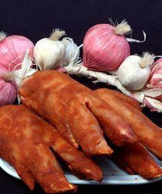 Manitas de cerdo curadas de Embutidos Pisón