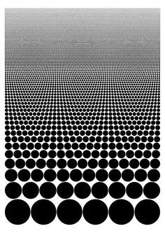 op art dots