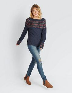 Christmas Jumpers, Christmas Sweaters, Fat Face, Skinny Jeans, Model, Pants, Diy, Dresses, Fashion
