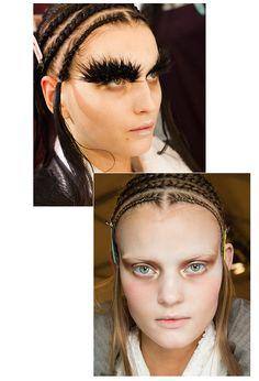 "Paris Fashion Week: Top 10 beauty trends Alexander McQueen ""Moonlit"" skin Fresh face 2014"