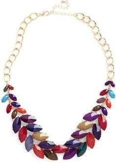 ModCloth Berry Good Harvest Necklace