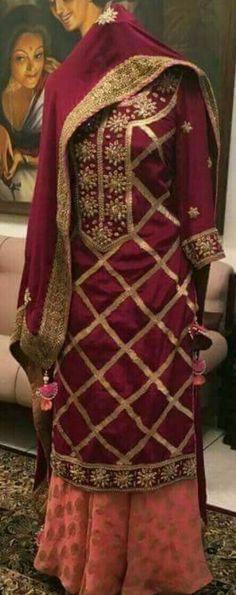 Shop salwar suits online for ladies from BIBA, W & more. Explore a range of anarkali, punjabi suits for party or for work. Punjabi Suits Party Wear, Indian Party Wear, Indian Wear, Red Lehenga, Lehenga Choli, Anarkali, Sari, Patiala Salwar, Sharara