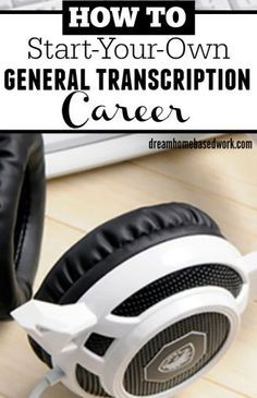 Have you ever wondered how to get your first transcription job? Learn you can start a general transcription career working from home. Work From Home Moms, Make Money From Home, Make Money Online, How To Make Money, Legitimate Work From Home, Job Work, Data Entry, Transcription, Marketing Jobs