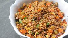 This is an amazing recipe! instead of cooking the wheat, i use sprouted wheat berries instead and then follow the directions the rest of the way as is. It is a little spicy a little sweet and chock full of fresh flavors.   Chipotle and Toasted Walnut Wheat-Berry Salad | Recipes - PureWow