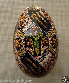 Ukrainian Pysanka BY Oleh K Goose Easter EGG Pysanky