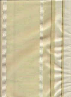 "Provence Stripe in Seedpearl sand color : champange gold tones and taupe stripes in matte raw silk finish with embroidered creamy white stripes: Custom 50"" Wide Tailored Tier Curtains - Group B fabrics in any length with lining or blackout option"