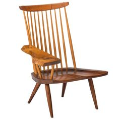 Mid-Century Modern Designers: Lounge Chair by George Nakashima | NONAGON.style