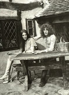 Roger and Heather Daltrey in 1971.