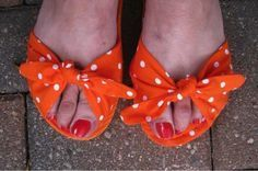Follow along with this step-by-step tutorial for turning inexpensive flip-flops into adorable, classy sandals you'll want to wear again and again (Psst: You can even use fuzzy fabric for a DIY slipper you'll wear all winter long!). Read on!