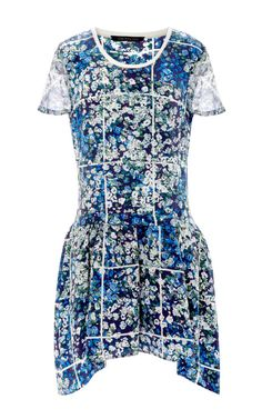 Floral+Grid+Annabelle+Dress+by+Timo+Weiland+