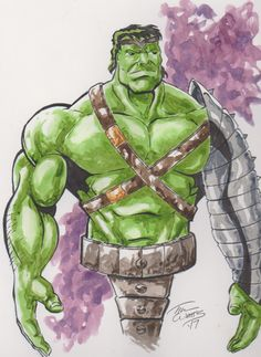 #Hulk #Animated #Fan #Art. (Planet Hulk low res) By: Tim753. ÅWESOMENESS!!!™ ÅÅÅ+