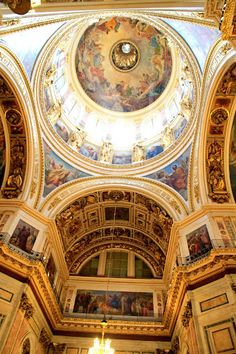 Another shot inside St. Isaac's Cathedral - St. Petersburg, Russia