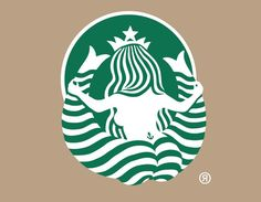 Funny pictures about Starbucks logo from behind. Oh, and cool pics about Starbucks logo from behind. Also, Starbucks logo from behind. Web Design, Design Art, Logo Design, Graphic Design, Design Humor, Print Design, Starbucks Logo, Starbucks Siren, Starbucks Coffee
