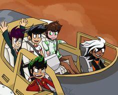 Just a Ghost : Photo Cartoon Games, Cartoon Shows, Cartoon Characters, Cartoon Drawings, Cartoon Art, Dragon Occidental, Randy Cunningham Ninja Total, Ben 10 Comics, Heroes United