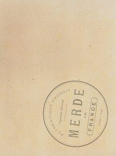 APD &Co. — MERDE in FRANCE