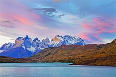 Image: Cuernos del Paine mountains at sunset, Torres del Paine National Park, southern Chilean Patagonia. (© John W Banagan/Getty Images)