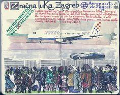 de vuelta con el cuaderno: Cuaderno Muaré (14. + Croacia)