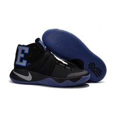 18cb07283cdc Nike Kyrie 2 Black Purple Mens Basketball Shoes Jordan Shoes For Sale
