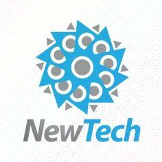 Exclusive Customizable Logo For Sale: New Tech | StockLogos.com