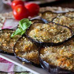 Melanzane gratinate antipasto semplice e veloce sono un contorno molto sfizioso, ideale per arricchire un buffet freddo estivo.