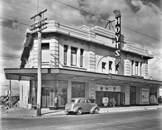 The Waratah cinema, Ascot Vale - History. Stood @ corner of Mt Alexander and Ormond Roads - Melbourne Flemington Ascot vale moonee Ponds heritage Melbourne Victoria, Victoria Australia, Ascot Vale, The 'burbs, Historical Architecture, Historical Pictures, Melbourne Australia, Old Photos, Vintage Photos