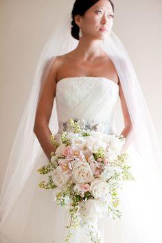 Pretty Pastel Wedding Bouquets www.wisteria-avenue.co.uk