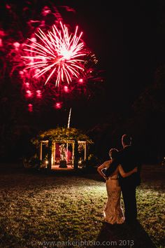 Art Deco Biltmore Diana Wedding with fireworks during wedding reception. // Planning: @avleventco // Photo: Parker J Photography // Read More: http://ashevilleeventco.com/blog/kari-matts-art-deco-diana-wedding-at-biltmore-estate/#more-5677