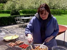 Breakfast Hot Dogs Recipe : Ina Garten : Food Network - FoodNetwork.com Best Barefoot Grilling episode