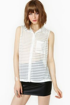 Bright Lines Blouse