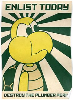 poster - koopa troopa