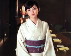 Rena Tanaka , Tanaka Rena (田中麗奈) Japanese Kimono, Japanese Girl, Japanese Outfits, He's Beautiful, Yukata, Fasion, Feminine, Sari, Portrait