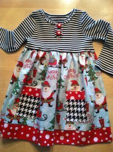 Sewing For Kids evies dress - I am always finding fabric that inspires me to sew these cute little dresses for my grandbabies. I use inexpensive t-shirts, and cut them to make the top of each dress, then I mix up co-ordinating … Sewing Kids Clothes, Sewing For Kids, Ladies Clothes, Children Clothes, Baby Sewing Projects, Creation Couture, Diy Dress, Dress Sewing, Sewing Coat