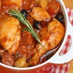 Portuguese Stewed Chicken