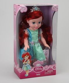 Take a look at this My First Disney Princess Ariel Doll by Disney on #zulily today!