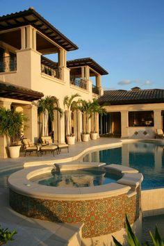 lavish luxury luxurious luxury homes luxury house luxurious lifestyle luxurious . Spanish Style Homes, Spanish House, Dream Home Design, My Dream Home, Dream Life, Huge Houses, Dream Mansion, Luxury Homes Dream Houses, Dream Homes