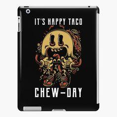 Happy Taco, Lip Designs, Ipad Case, Tacos, My Arts, Product Launch, Art Prints, Printed