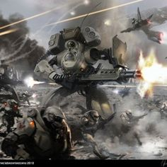 20 Epic Digital Sci-Fi Battle Arts
